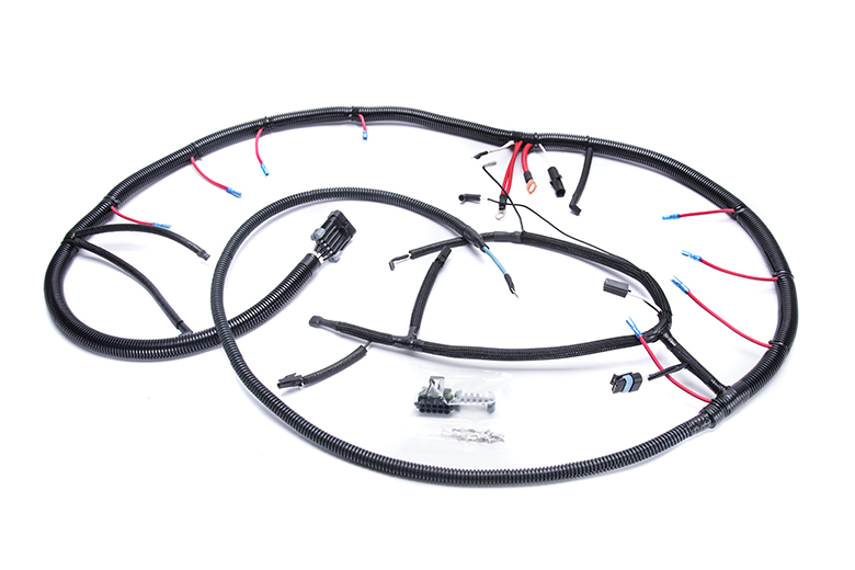 Glow Plug Wiring Harness For 1992 To 1994 Ford F250, F350, F450 Super Duty.  (photo Is Generic.)